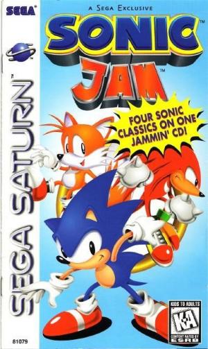 Sonic Jam sur Saturn