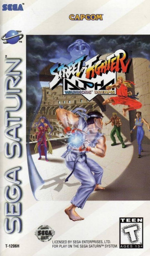 Street Fighter Alpha : Warriors' Dreams sur Saturn