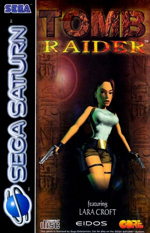 Tomb Raider (1996) sur Saturn