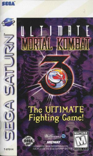 Ultimate Mortal Kombat 3 sur Saturn