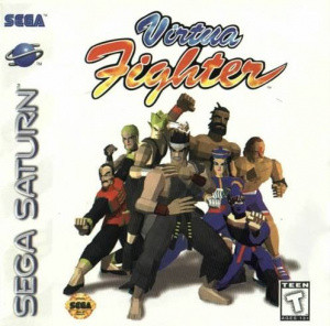 Virtua Fighter sur Saturn