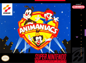 Animaniacs sur SNES