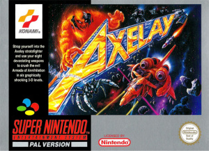 Axelay sur SNES