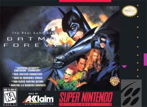 Batman Forever sur SNES