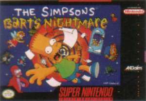 The Simpsons : Bart's Nightmare sur SNES