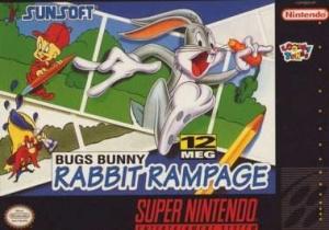 Bugs Bunny : Rabbit Rampage sur SNES