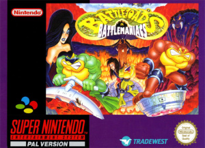 Battletoads in Battlemaniacs sur SNES