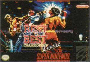 Best of the Best : Championship Karate sur SNES