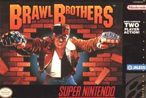 Brawl Brothers sur SNES