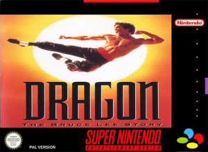 Dragon : The Bruce Lee Story sur SNES