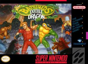 Battletoads Double Dragon sur SNES