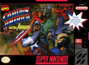 Captain America and the Avengers sur SNES