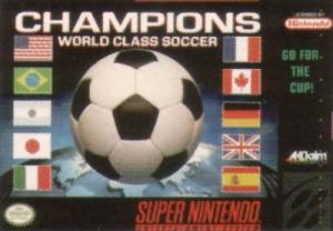 Champions World Soccer sur SNES
