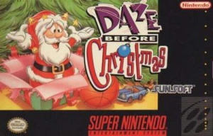 Daze Before Christmas sur SNES