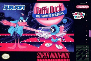 Daffy Duck : The Marvin Missions sur SNES