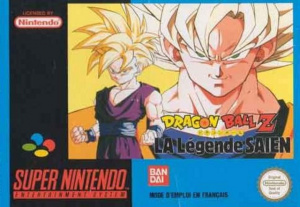 Dragon Ball Z 2 : La Légende Saien sur SNES