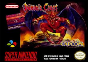 Demon's Crest sur SNES