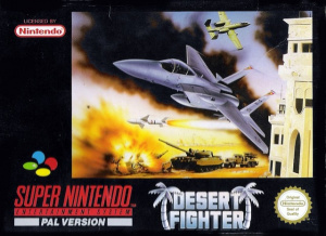Desert Fighter sur SNES