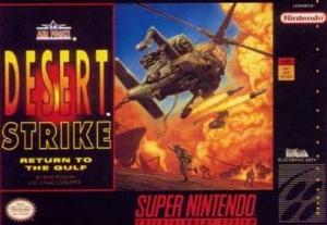 Desert Strike : Return to the Gulf sur SNES