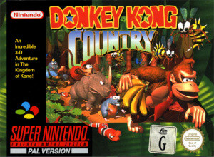 Donkey Kong Country sur SNES