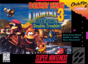 Donkey Kong Country 3 : Dixie Kong's Double Trouble sur SNES
