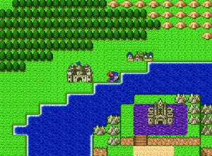 Dragon Quest I.II sur Super Famicom