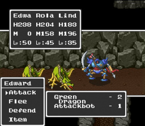Dragon Quest I.II sur Super Famicom