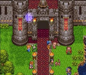 Dragon Quest III sur Super Famicom