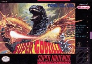 Super Godzilla sur SNES