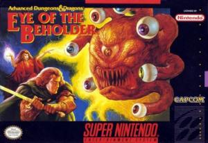 Eye of the Beholder sur SNES