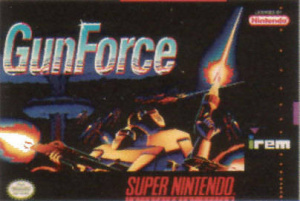 GunForce sur SNES