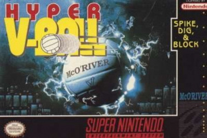 Hyper V-Ball sur SNES