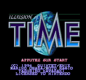 Oldies : Illusion of Time