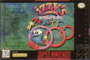 Izzy's Quest for the Olympic Rings sur SNES