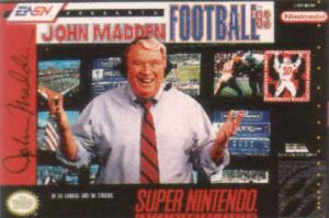 John Madden Football '93 sur SNES