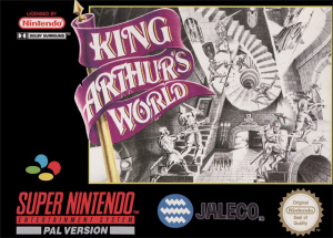 King Arthur's World sur SNES