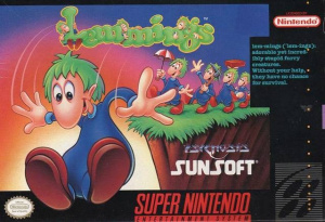 Lemmings sur SNES