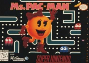 Ms. Pac-Man sur SNES