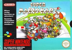 Super Mario Kart sur SNES