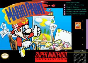Mario Paint sur SNES