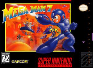 Mega Man 7 sur SNES