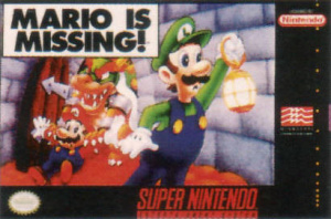 Mario is Missing ! sur SNES