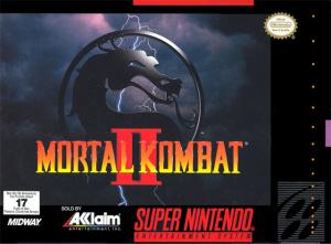 Mortal Kombat II sur SNES