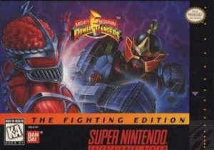Mighty Morphin Power Rangers : The Fighting Edition sur SNES