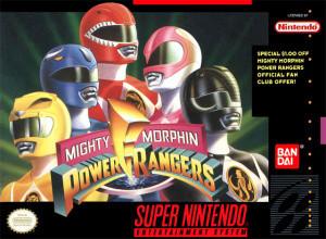 Mighty Morphin Power Rangers sur SNES