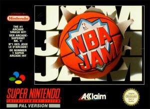 NBA Jam sur SNES