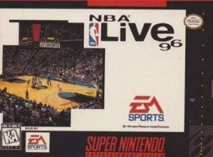 NBA Live 96 sur SNES