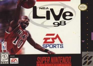 NBA Live 98 sur SNES