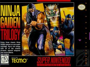Ninja Gaiden Trilogy sur SNES