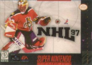 NHL 97 sur SNES